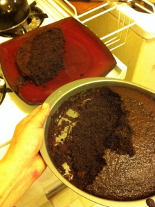 The Chocolate Tall Cake Experiment