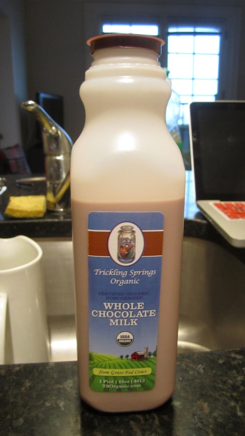 Buy This Now: Trickling Springs Creamery Chocolate Milk